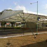Locação de tenda 15mX18m