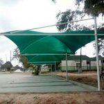COBERTURA TIPO SOMBREADORES